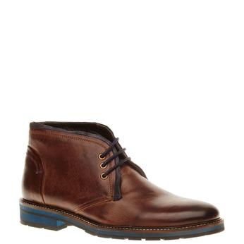 Skórzane buty typu Chukka bata, brązowy, 894-4126 - 13