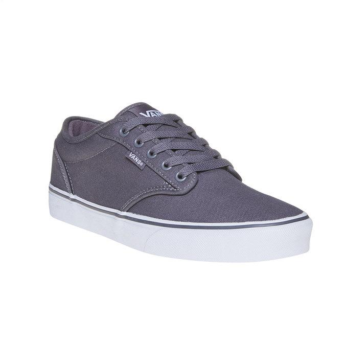 Klasyczne obuwie sportowe vans, szary, 889-2160 - 13