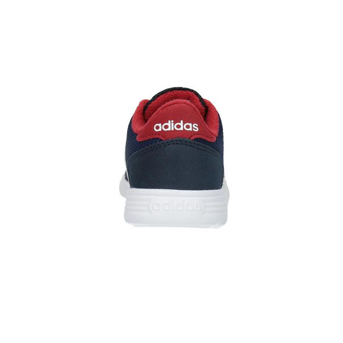 Trampki dziecięce o sportowym designie adidas, niebieski, 109-9141 - 17