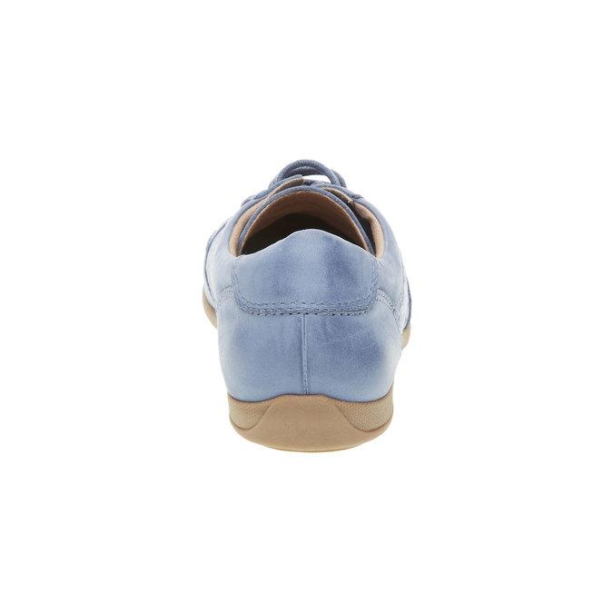 Skórzane buty sportowe na co dzień bata, niebieski, 524-9511 - 17