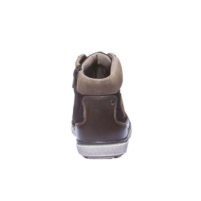 Buty dziecięce mini-b, brązowy, 313-4178 - 17