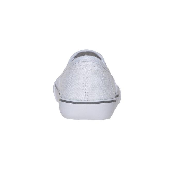 Dziewczęce buty Slip on z kryształkami mini-b, biały, 229-1148 - 17