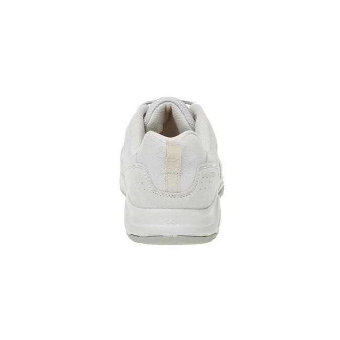 Skórzane buty sportowe power, szary, 503-2742 - 17