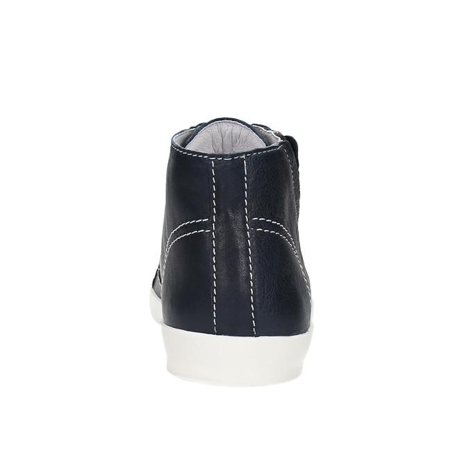 Skórzane buty sportowe do kostki weinbrenner, niebieski, 524-9310 - 17