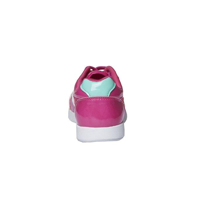 Dziewczęce buty sportowe mini-b, różowy, 329-5175 - 17