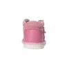 Dziewczęce skórzane kapcie, różowy, 104-5001 - 17