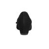 Czółenka ze skóry na koturnie gabor, czarny, 723-6110 - 17
