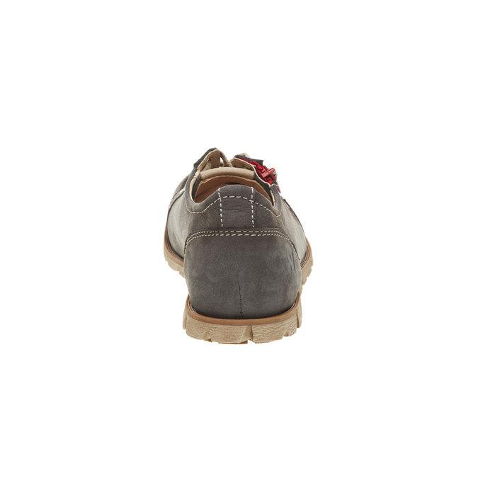 Skórzane buty sportowe z zamkiem weinbrenner, brązowy, 546-9246 - 17