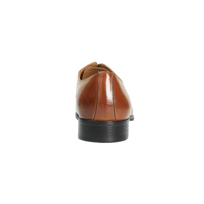 Brązowe angielki ze skóry bata, brązowy, 824-3648 - 17