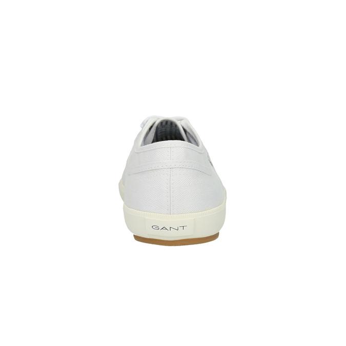 Męskie buty sportowe w codziennym stylu gant, biały, 849-1020 - 17