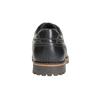 Skórzane półbuty z przeszyciami na nosku bata, czarny, 826-6640 - 17