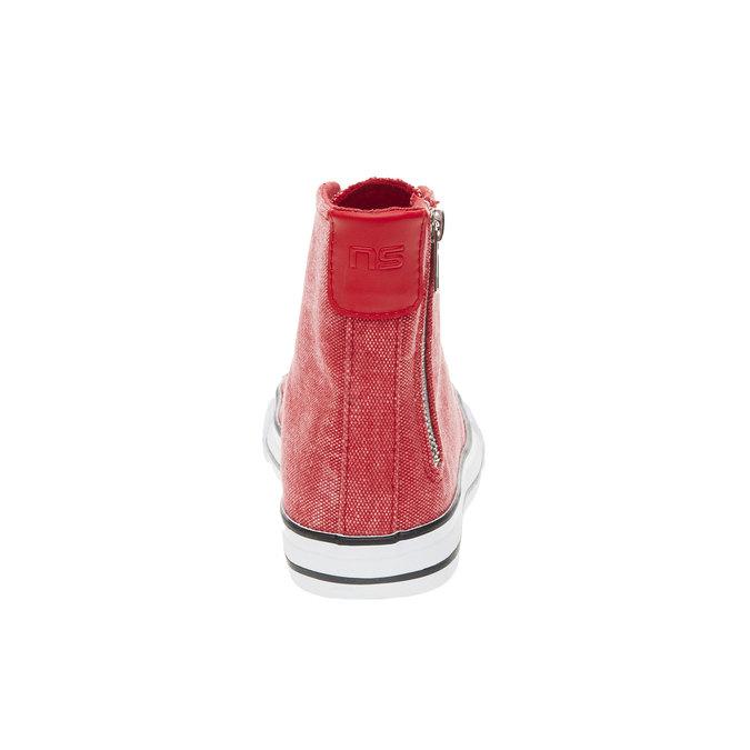 Czerwone buty sportowe do kostki north-star, czerwony, 589-5312 - 17