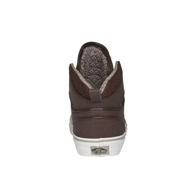 Męskie buty sportowe do kostki vans, brązowy, 801-4305 - 17
