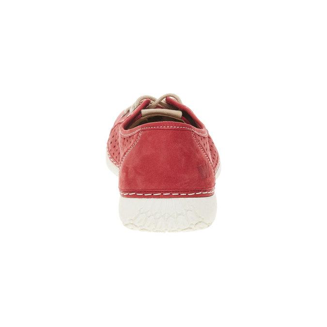Skórzane buty sportowe weinbrenner, czerwony, 546-5238 - 17