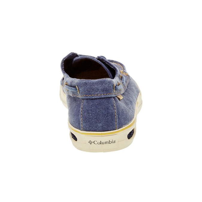 Mokasyny w codziennym stylu columbia, niebieski, 849-9025 - 17