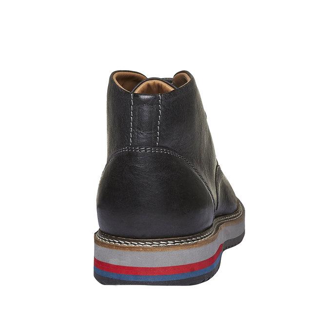 Skórzane buty w stylu Desert Boots bata, czarny, 894-6114 - 17