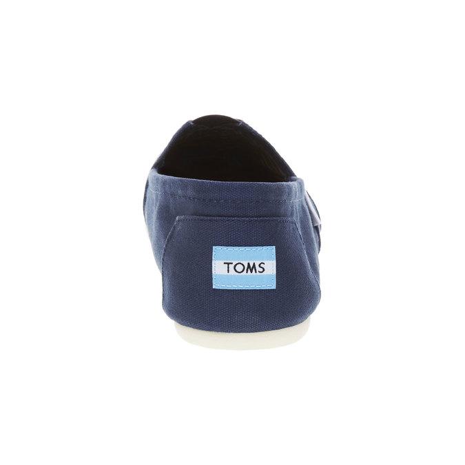 Męskie slip on toms, niebieski, 819-9004 - 17