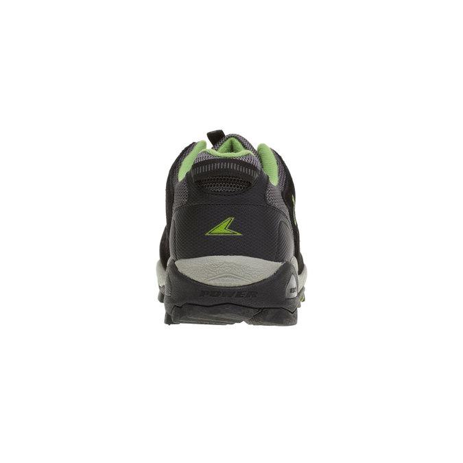 Skórzane buty sportowe power, czarny, 803-6284 - 17