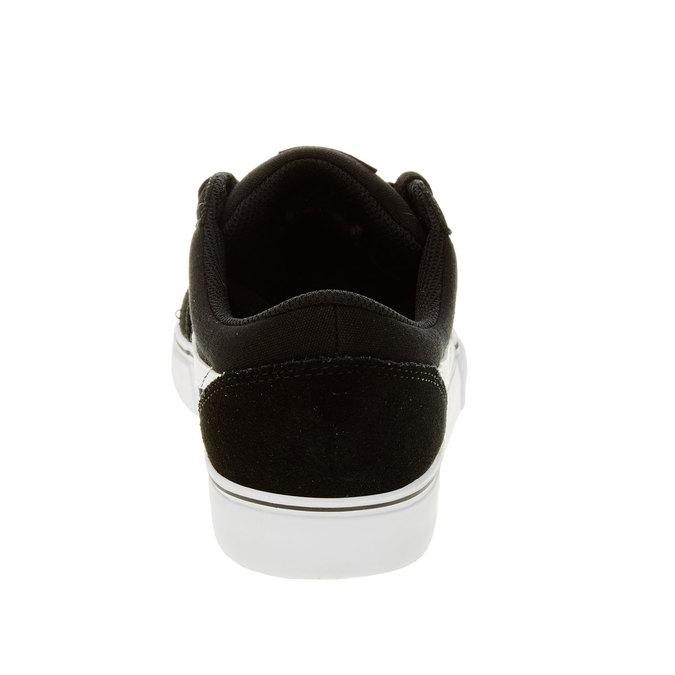 Męskie skórzane buty sportowe nike, czarny, 803-6134 - 17