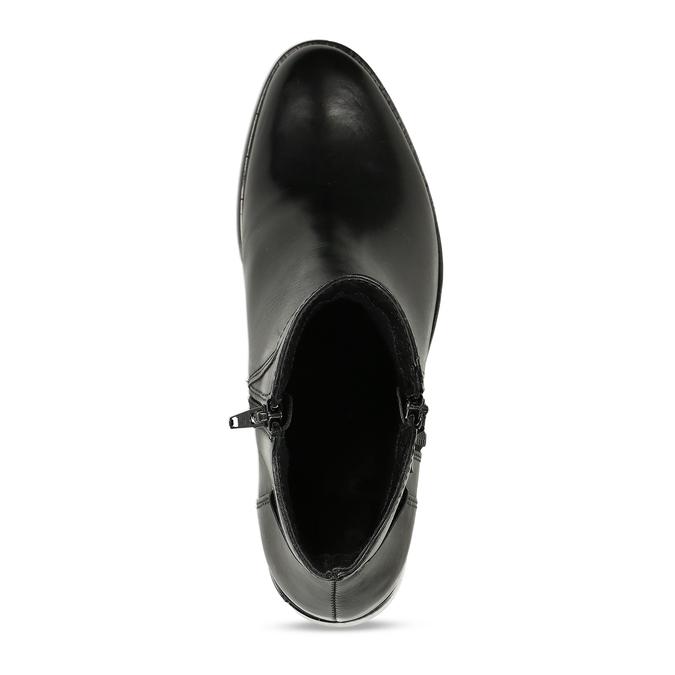 Botki damskie bata, czarny, 694-6600 - 17