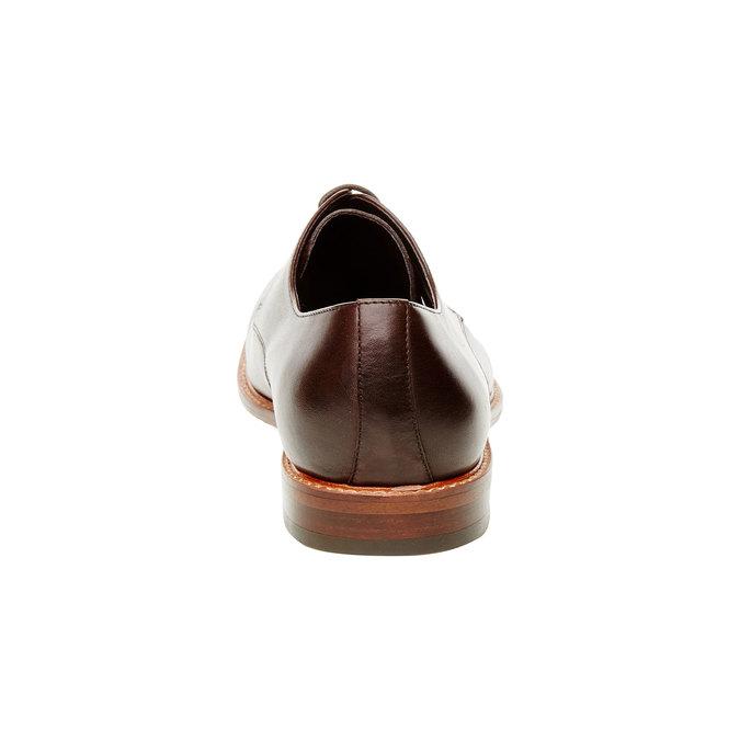 Skórzane półbuty o kroju Derby bata, brązowy, 824-4551 - 17