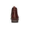 Chelsea boots ze skóry bata, brązowy, 596-4606 - 17