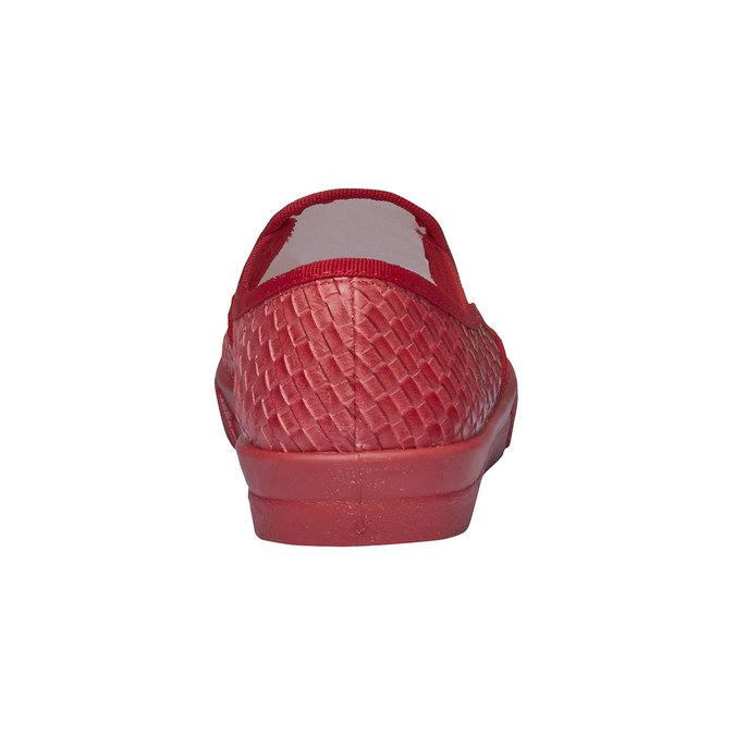 Damskie buty typu plimsoll north-star, czerwony, 531-5119 - 17
