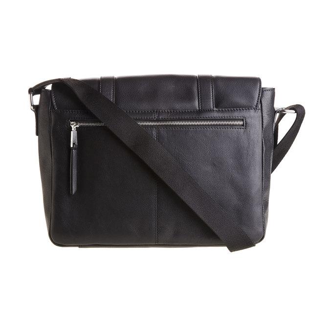 Męska skórzana torba bata, czarny, 964-6182 - 26