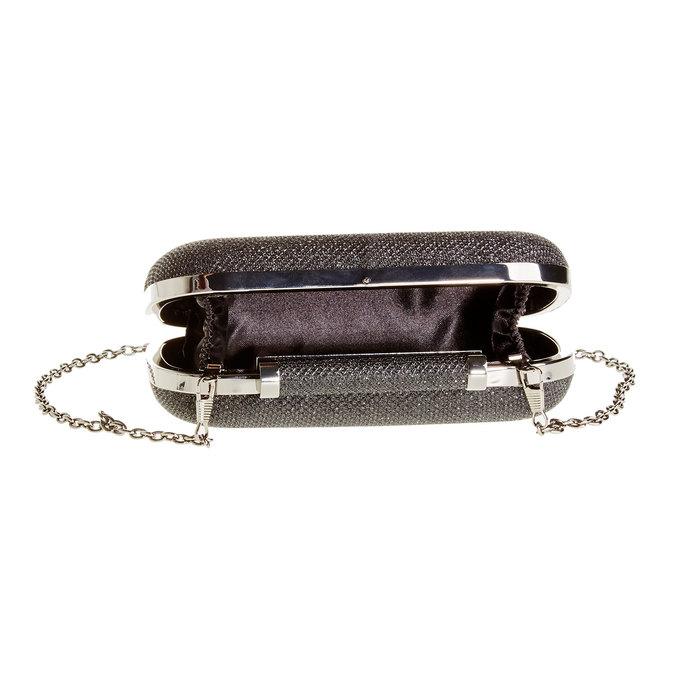 Kopertówka w stylu Minaudière bata, czarny, 969-6351 - 15