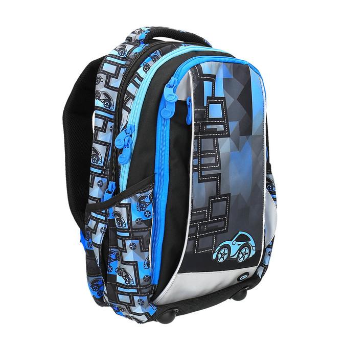 Chłopięcy plecak szkolny bagmaster, niebieski, 969-9610 - 13
