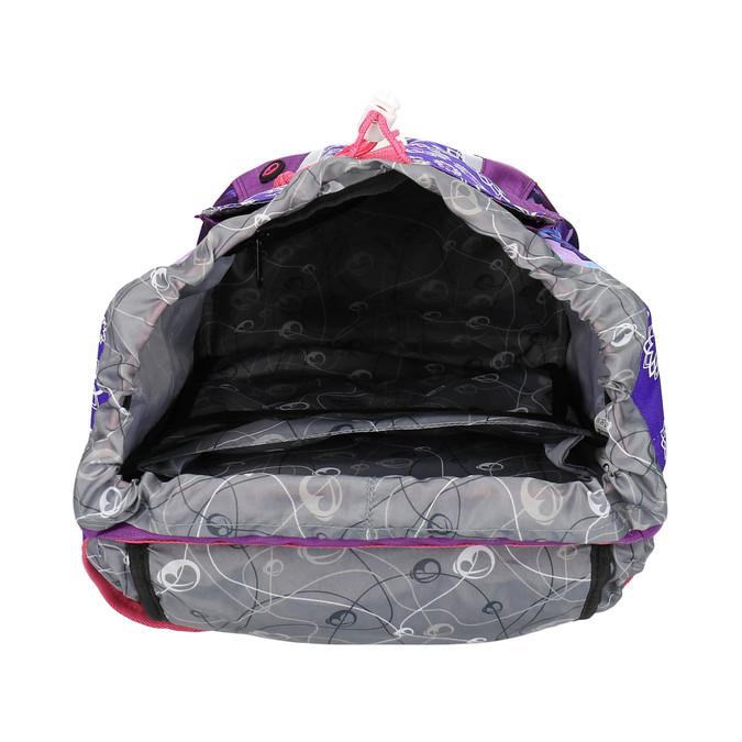 Regulowany plecak szkolny z jednorożcem bagmaster, fioletowy, 969-5611 - 15
