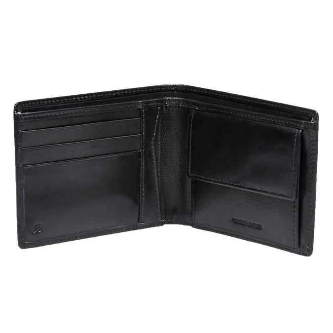 Skórzany męski portfel bata, czarny, 944-6122 - 15