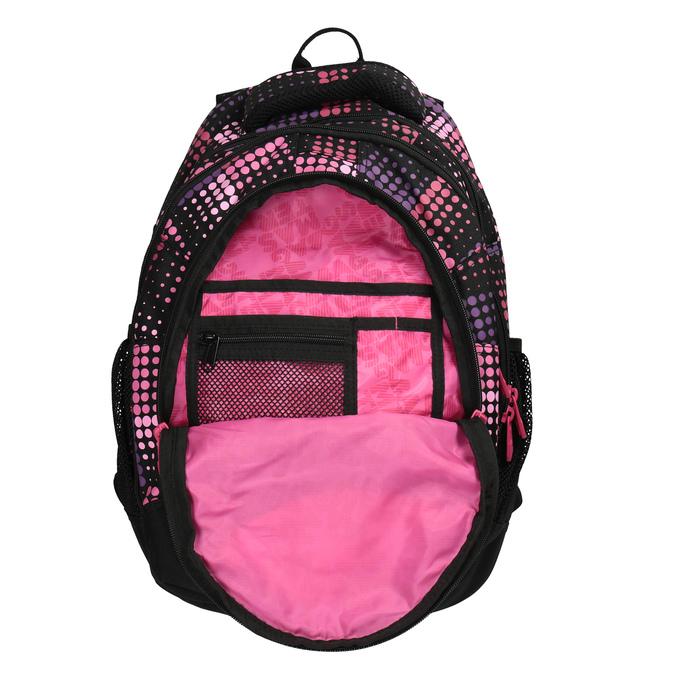 Plecak szkolny w groszki, dla dziewcząt bagmaster, różowy, 969-5601 - 15