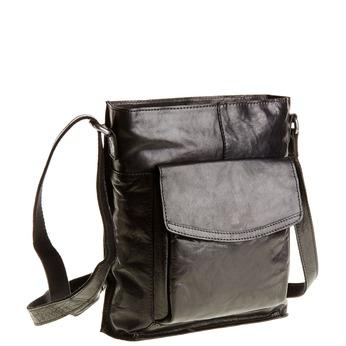 Męska skórzana torba Crossbody bata, czarny, 964-6141 - 13