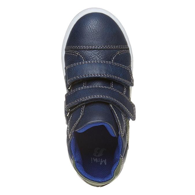 Granatowe trampki dziecięce mini-b, niebieski, 211-9152 - 19
