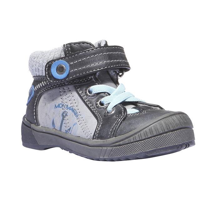 Buty dziecięce mini-b, szary, 111-2101 - 13