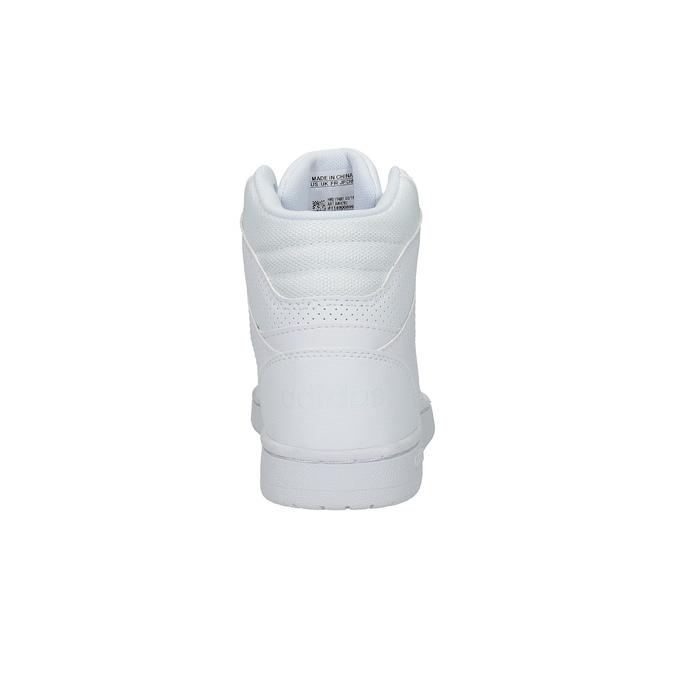 Białe trampki za kostkę adidas, biały, 501-1741 - 17
