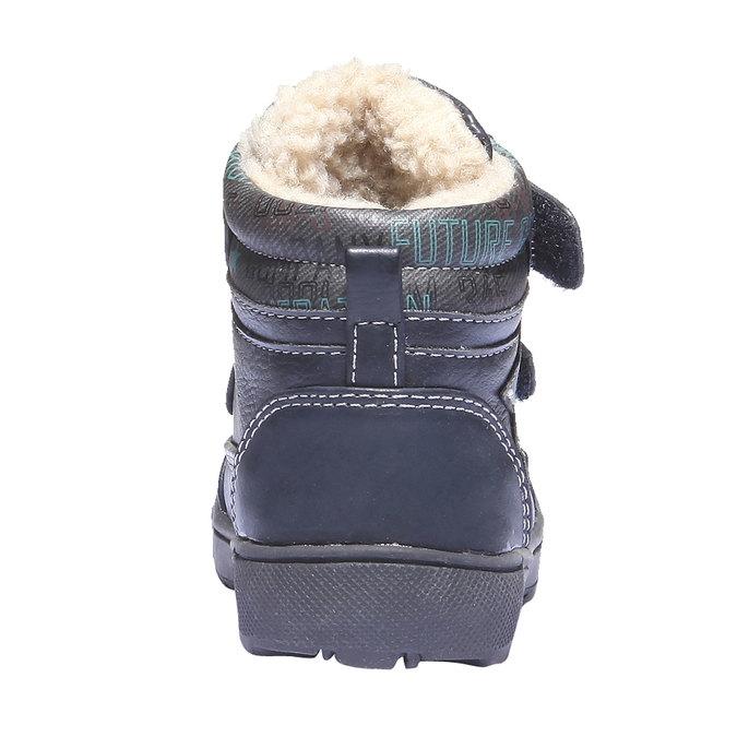 Buty dziecięce mini-b, niebieski, 111-9103 - 17