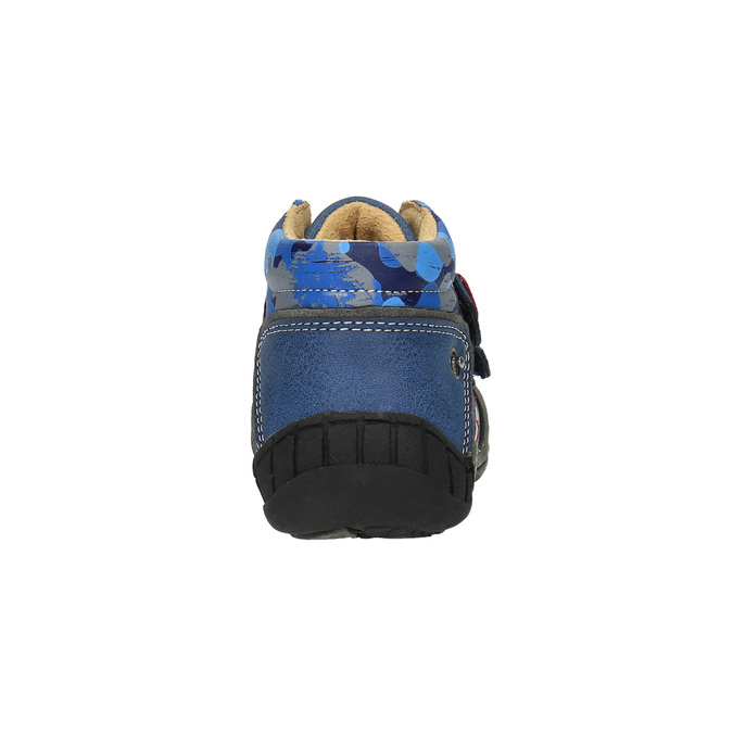 Trampki dziecięce bubblegummer, niebieski, 111-9611 - 17