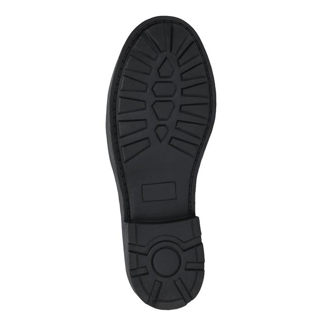Botki dziecięce z elastycznymi wstawkami po bokach mini-b, czarny, 321-9602 - 26
