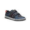Granatowe trampki dziecięce na rzepy mini-b, niebieski, 411-9601 - 13