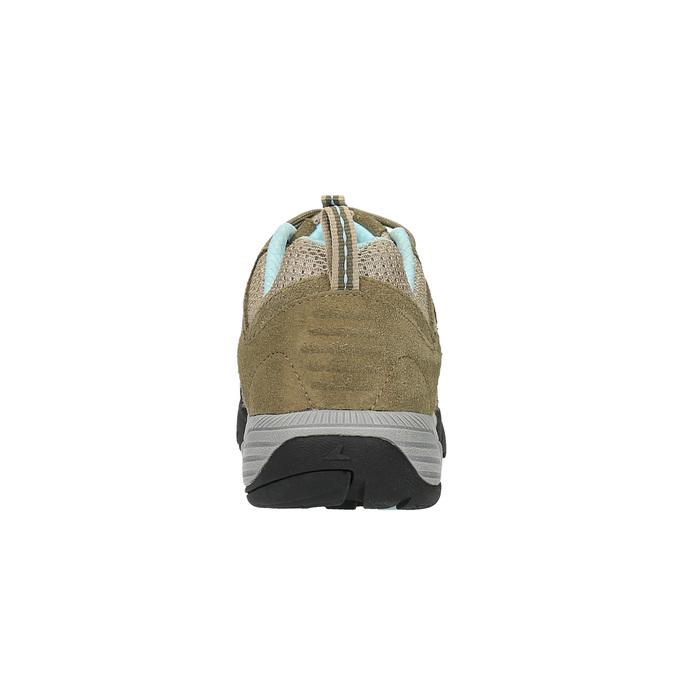 Damskie skórzane buty w stylu Outdoor power, beżowy, 503-3829 - 17