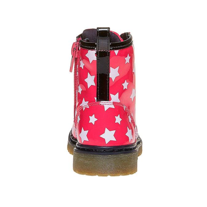 Botki dziecięce za kostkę, zgwiazdkami mini-b, różowy, 291-5159 - 17