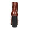Botki na szerokim obcasie bata, brązowy, 791-4611 - 17