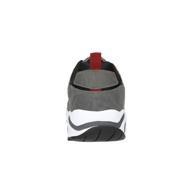 Męskie buty sportowe na solidnej podeszwie bata, szary, 841-2602 - 17