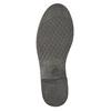 Botki damskie ze skóry bata, czarny, 594-6611 - 19