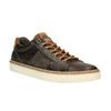 Trampki męskie ze skóry bata, brązowy, 846-4605 - 13