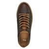 Trampki męskie ze skóry bata, brązowy, 846-4605 - 19