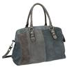 Zamszowa torba bata, szary, 966-2202 - 13