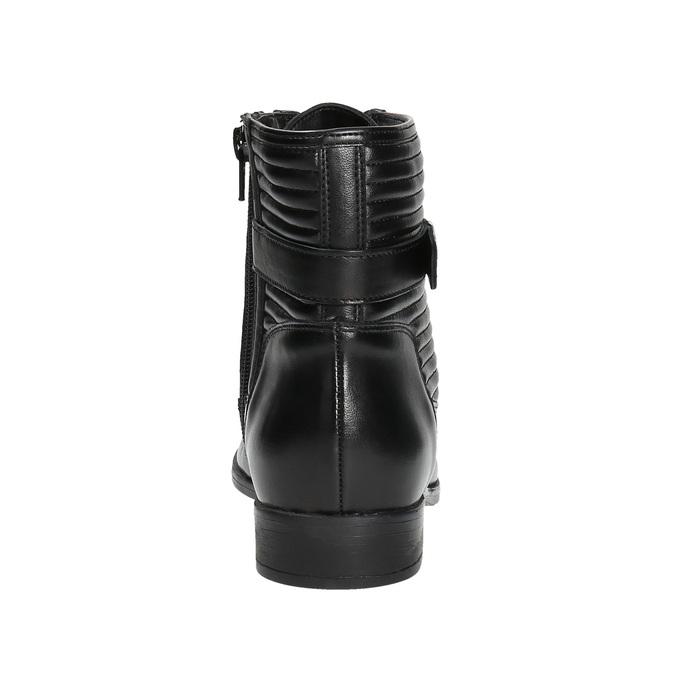 Damskie botki bata, czarny, 594-6617 - 17